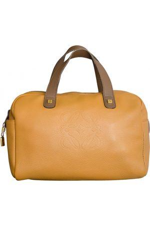 Loewe Amazona leather bowling bag