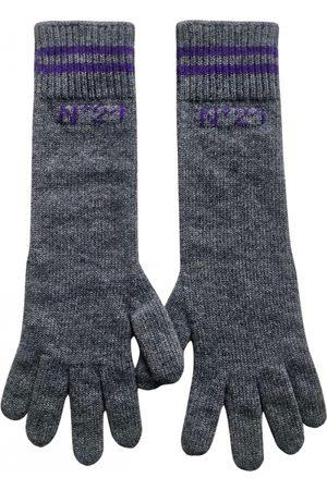 No. 21 Wool long gloves