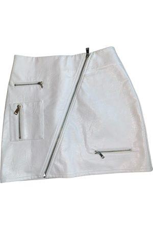 I.AM.GIA Patent leather mini skirt