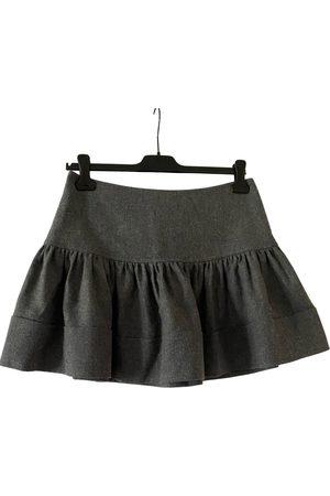 303 avenue Women Mini Skirts - Wool mini skirt
