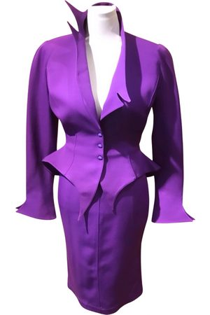 Thierry Mugler Wool suit jacket