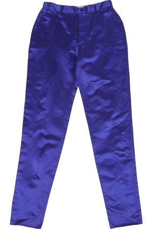 Gianfranco Ferré Silk straight pants