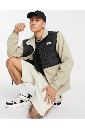 The North Face Denali Insulated fleece jacket in beige
