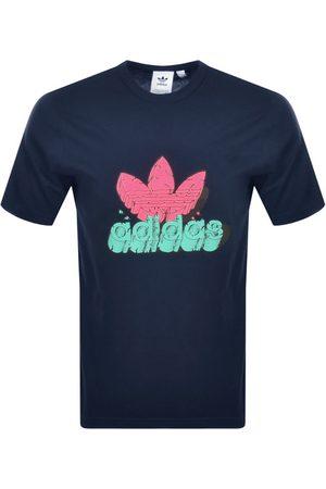 adidas 5 AS T Shirt Navy