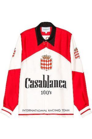 Casablanca Printed 100's Silk Twill Shirt in