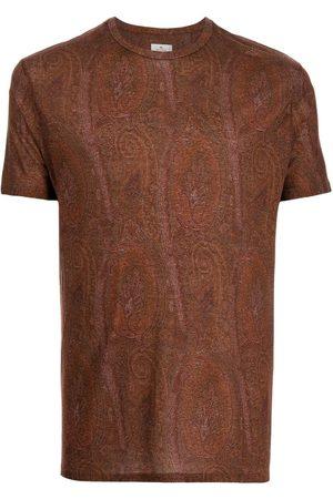 Etro Paisley-Print T-Shirt