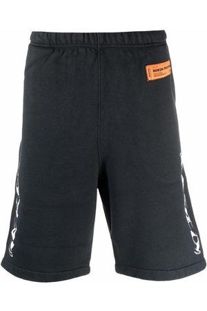 Heron Preston Logo Detail Sweat Shorts