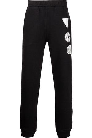 Burberry Patch-Print Track Pants