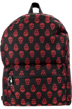 Alexander McQueen Skull Print Zipped Backpack