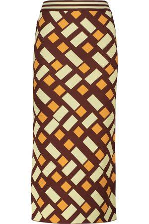 DODO BAR OR Jacquard pencil skirt