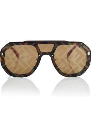 Fendi Acetate aviator sunglasses