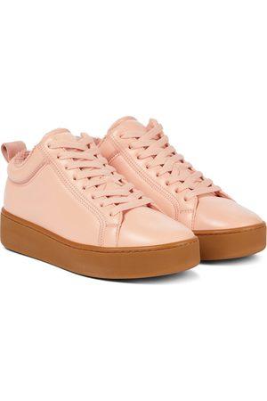 Bottega Veneta Quilt leather platform sneakers