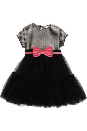 MONNALISA Princy cotton-blend dress