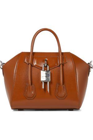 Givenchy Antigona Lock Mini leather tote