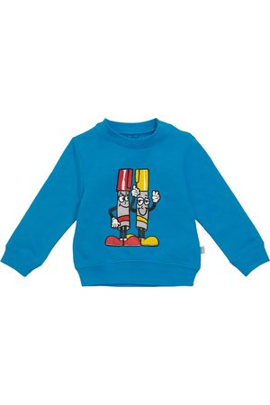 Stella McCartney Baby printed cotton-jersey sweatshirt
