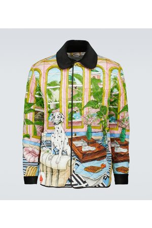 Casablanca Dream House quilted jacket