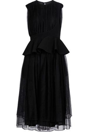 NOIR KEI NINOMIYA Sleeveless tulle dress