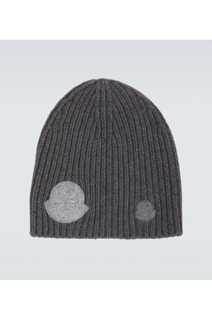 Moncler Genius 2 MONCLER 1952 cashmere and wool-blend logo beanie