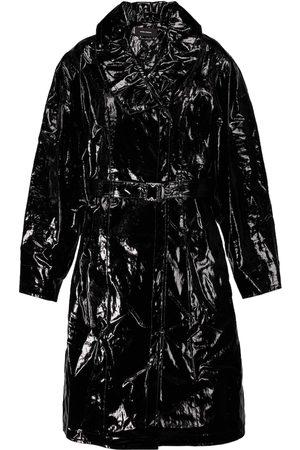 Isabel Marant Epanima vinyl trench coat
