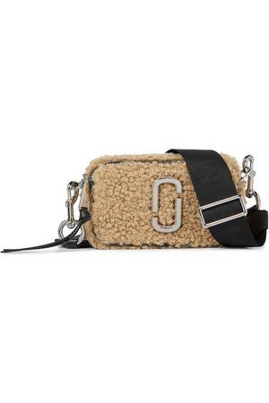 The Marc Jacobs Snapshot faux shearling shoulder bag