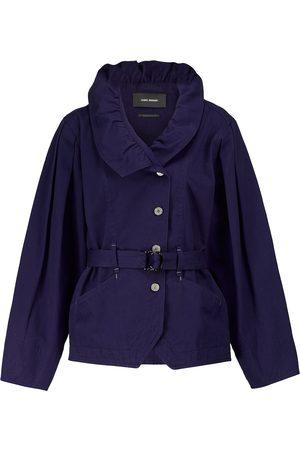 Isabel Marant Dipazo belted denim jacket