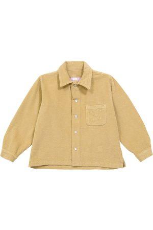 ERL Kids Shirts - Stretch-cotton corduroy shirt