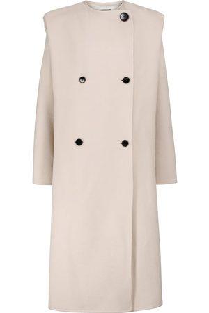 Isabel Marant Egelton wool and cashmere coat