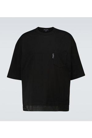 Comme des Garçons Short-sleeved cotton T-shirt