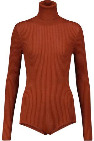 DODO BAR OR Cutout-back knit bodysuit