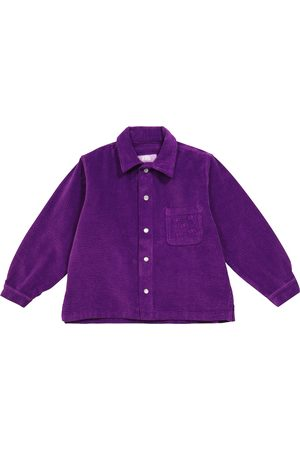 ERL Kids Stretch-cotton corduroy shirt