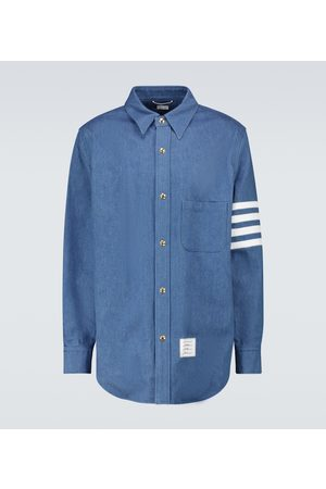 Thom Browne 4-Bar cotton overshirt