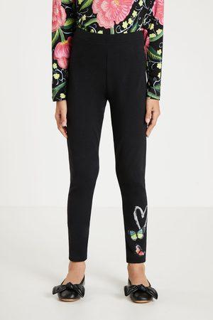 Desigual Girls Leggings - Slim leggings butterflies