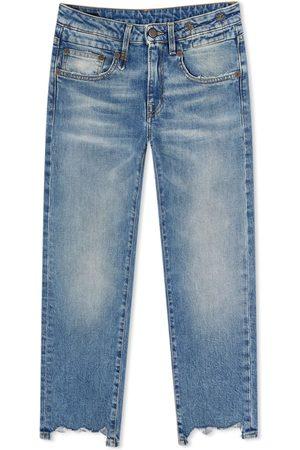 R13 Men Straight - Boy Straight Ripped Jean