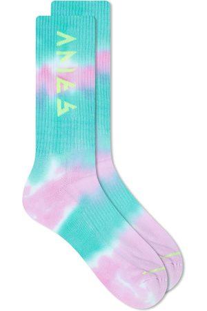 ARIES Men Neckties - Tie Dye Rune Socks