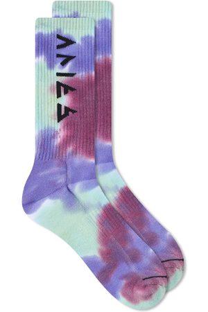 Aries Tie Dye Rune Socks