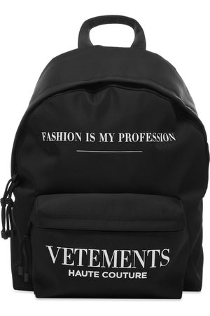 VETEMENTS Fashion Is My Profession Backpack