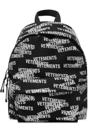 VETEMENTS Stamped Logo Backpack