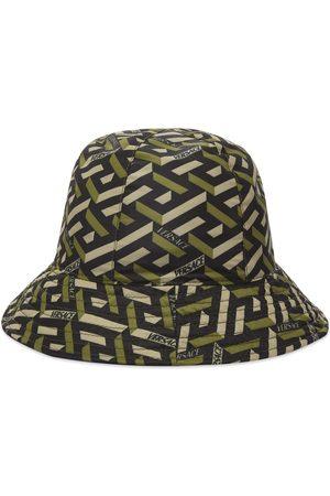 VERSACE Men Hats - Geometric Logo Bucket Hat