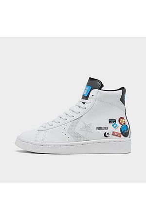 Converse Big Kids' X Nike Pro Leather High Top Casual Shoes in / Size 3.5