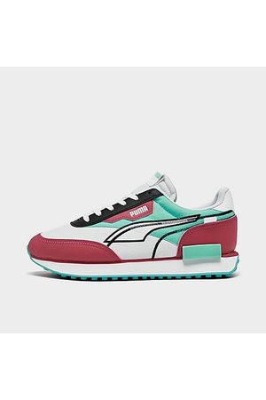 Puma Sneakers - Big Kids' Future Rider Twofold Sneakers in / Size 4.0 Leather/Nylon