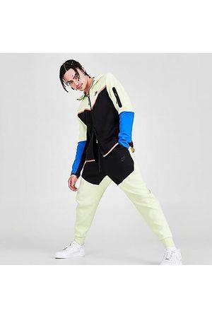 Nike Men Sweatpants - Tech Fleece Taped Jogger Pants Size X-Small Cotton/Polyester/Fleece