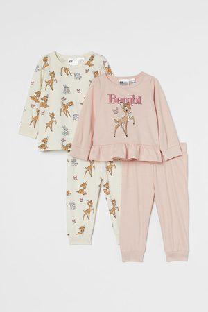 H&M 2-pack Flounced Pajamas