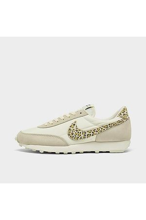 Nike Women Casual Shoes - Women's Daybreak SE Casual Shoes in Beige/Animal Print/Sail Size 10.0 Leather/Nylon/Suede