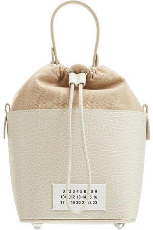 MAISON MARGIELA Women Shoulder Bags - 5ac Bucket Grained Leather Bucket Bag