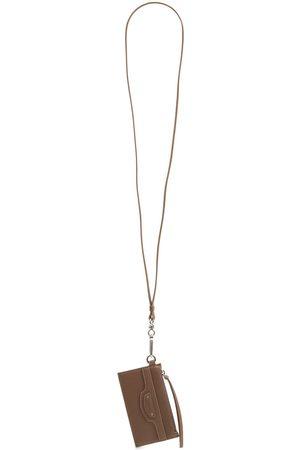 BALENCIAGA Neo Classic Leather Card Case W/strap