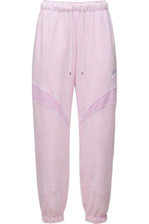 NIKE Women Sweatpants - Air Cotton Blend Joggers