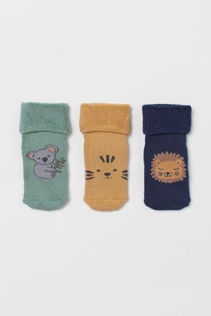 H & M 3-pack Terry Socks