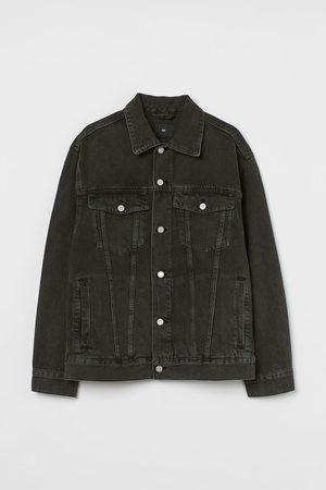 H & M Men Denim Jackets - Oversized Denim Jacket