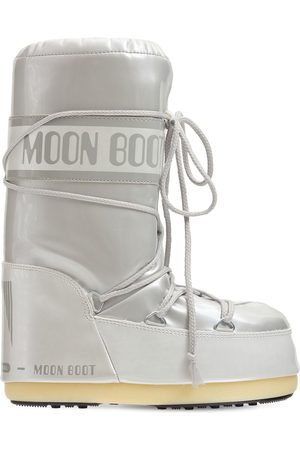 Moon Boot Laminated Snow Boots