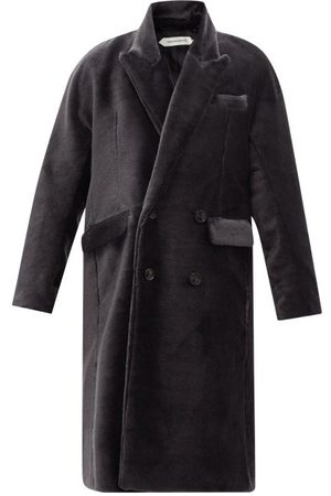 Namacheko Double-breasted Mohair Overcoat - Mens
